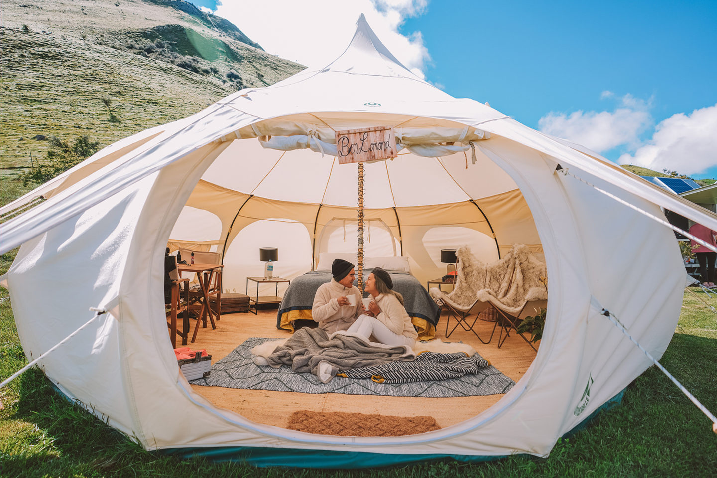 New Zealand Luxury Glam camping